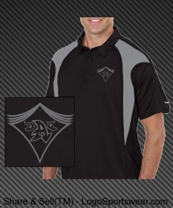 Back Alley Crew Bowling League Polo Design Zoom